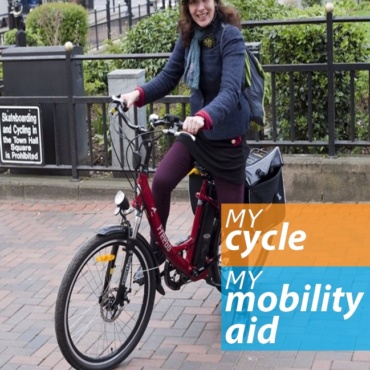 'My Cycle, My Mobility Aid' campaign
