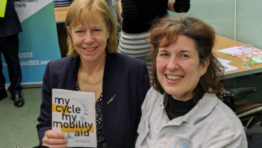 Wheels for Wellbeing at Parliamentary Event