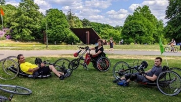 Hay fever, restarting sessions & handcycling!