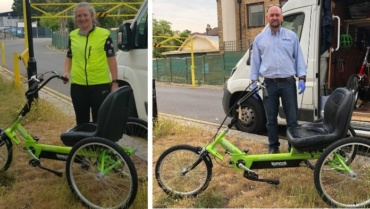 Tomcat Dragon trike donated in memory of a loved one
