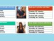 Get Yourself Active at Home – New Timetable