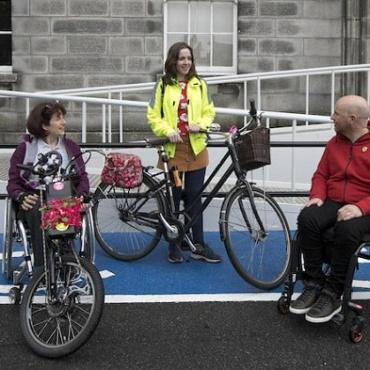 """How Can We Design Accessible Cycle Parking?"""