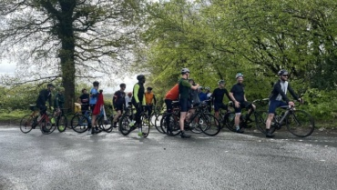 Cycle ride in memory of Andy Roads