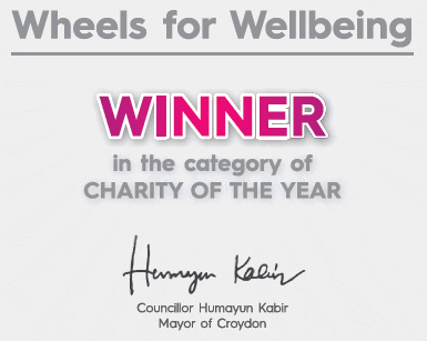 Celebrating our Charity of the Year Award!
